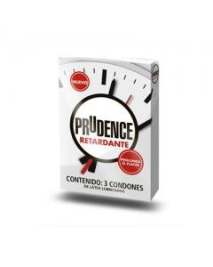Prudence Condón Retardante 3 pzas