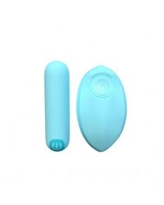 Bala Vibradora con Control Remoto Bliss Blue